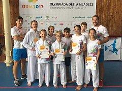 Karatisté z Ústeckého kraje na olympiádě dětí a mládeže uspěli.