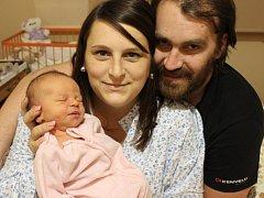 Nela Machová se narodila v ústecké porodnici 29.11.2016 (2.16) Katrin Machové. Měřila 49 cm, vážila 3,48 kg.