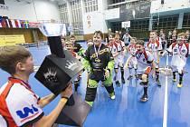 Mladší žáci Florbal Ústí ovládli Prague Floorball Cup 2020.