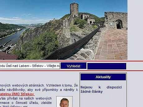 Střekovský web