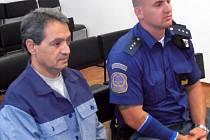 Dušan Pintye u soudu.