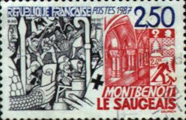 Poštovní známka.