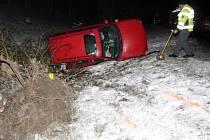 Smrtí řidiče osobního auta skončila dopravní nehoda nedaleko Ústí nad Labem.