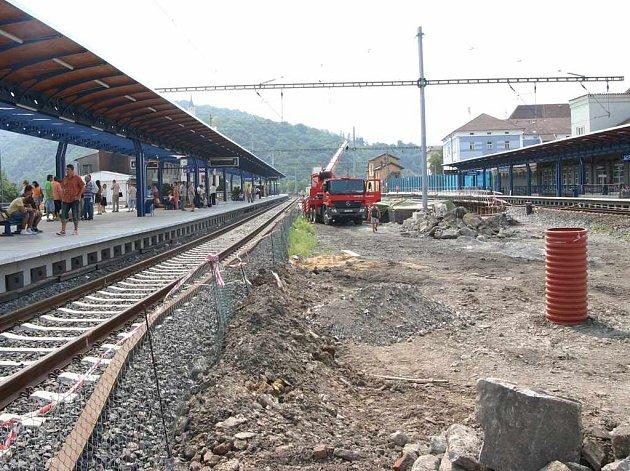 Hlavní vlakové nádraží v Ústí nad Labem mění tvář