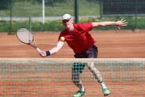 Domácí tenisté České Lípy se spoléhali na Pavel Hübnera a Lukáše Gernáta.