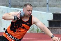 Atletický mítink Ústecké vrhy byl příležitostí k pilování formy před vrcholnými podniky. Vratislav Bejček - AC Ústí