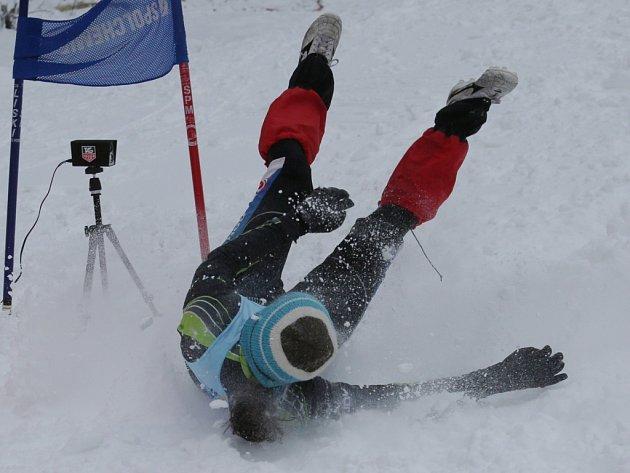 Ilustrační foto - pád na lyžích na Telnici.