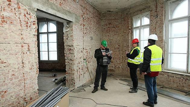 Rekonstrukce muzea.