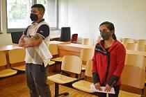 Kristian Mati a Zlata Štipáková u ústeckého krajského soudu