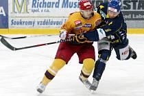 Ústečtí hokejisté doma porazili Jihlavu 3:2 a v sérii vedou už 2:0 na zápasy.