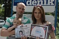 Vítězem ankety O nejroztomilejší miminko roku vyhrál Tomáš Macek s počtem 4 618 hlasů.