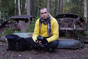 Ústecký muzejník a fotograf Vladimír Cettl se vydal fotografovat vraky do Švédska.