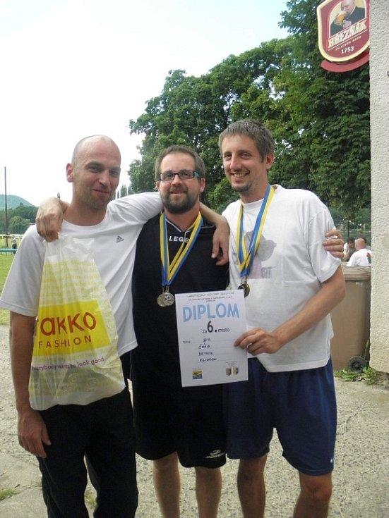 Nohejbalový turnaj Vaňov Cup bavil diváky i samotné hráče.