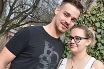 Barbora Zapletalová a Jakub Žucha.