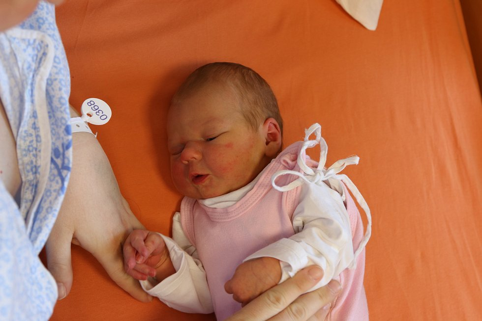 Anna Novotná se narodila Michaele Novotné z Ústí nad Labem 31. března v 6.09  hod. Měřila 52 cm, vážila 3,65 kg
