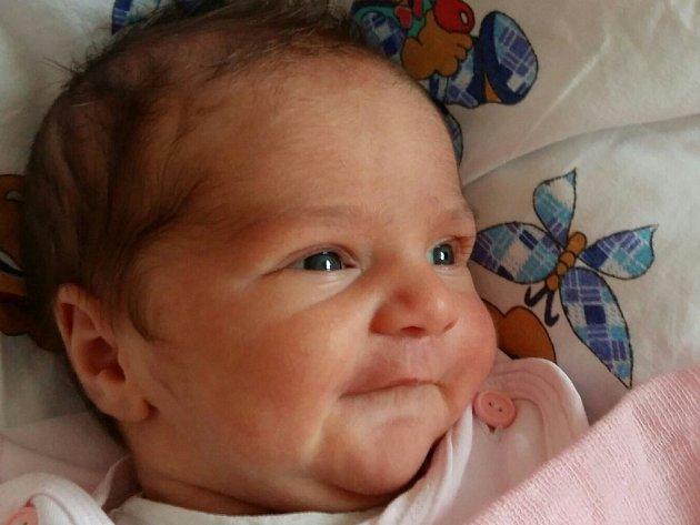 Veronika Nováková se narodila v ústecké porodnici 13.10.2016 (8.52) Naďe Novákové. Měřil 52 cm, vážila 3,67 kg.