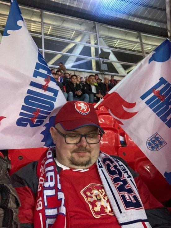Čtenáři Deníku fandili ve Wembley.