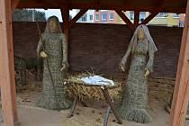 Domov pro seniory v Krásném Březně zprovoznil originální betlém