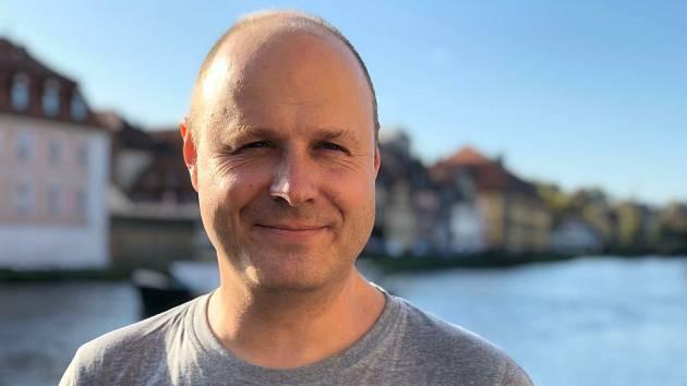 Politolog Lukáš Novotný.
