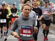 Účastníci ústeckého půlmaratonu