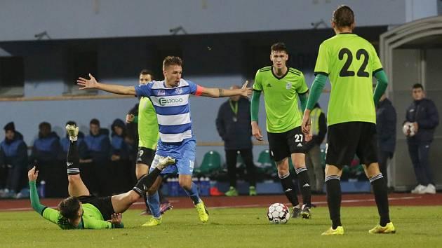 FK Ústí nad Labem - Slavoj Vyšehrad, Fortuna národní liga 2019/2020