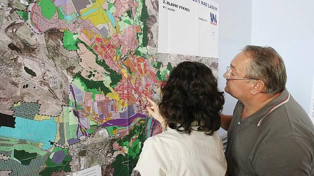 Připomínkování územního plánu.