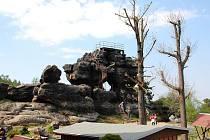 Lázeňské městečko Oybin nabízí celou řadu možností pro výlety do okolí.