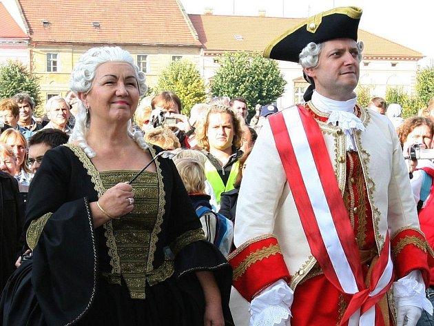 Josefínské slavnosti v Terezíně.