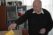 Jan Řeřicha již včera vyklidil svou kancelář náměstka primátora.