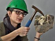 Zuzana Vařilová se v ústeckém muzeu stará o tisíce exponátů včetně vzácných fosilií.
