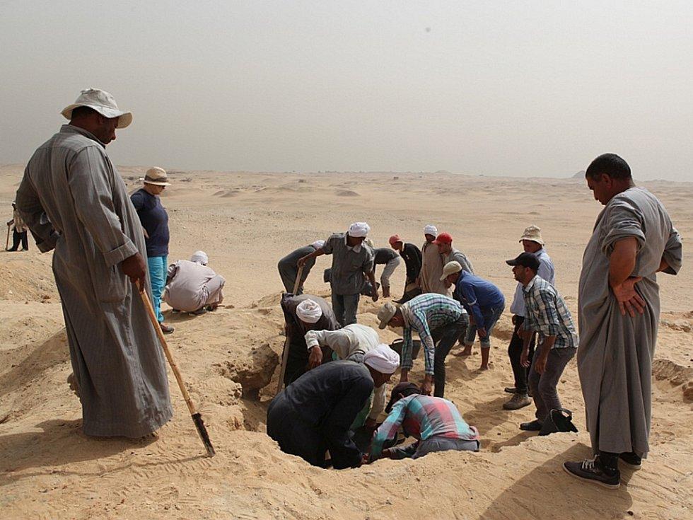 Geodet a pedagog z ústecké univerzity Vladimír Brůna se vrátil do egyptského Abúsíru.