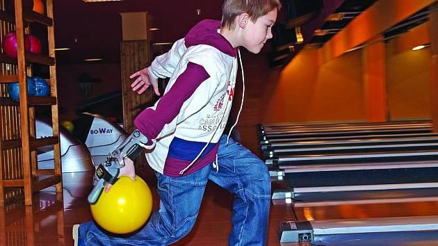 Marek Švingr patří mezi největší bowlingové talenty.