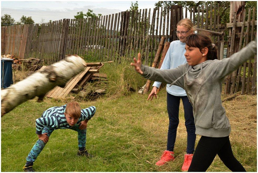 Újezdský dětský desetiboj oslavoval pohyb a bezvadné předsedy