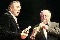 Narozeninový koncert Karla Gotta v Ústí nad Labem.
