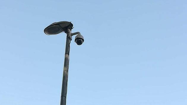 Bezpečnostní kamera v Předlicích