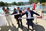 Slavnostní otevření koupaliště na Klíši v Ústí nad Labem