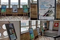Výstava Voda & civilizace má řadu doprovodných akcí. Jednou z nich je výstava na schodišti magistrátu města Ústí nad Labem.