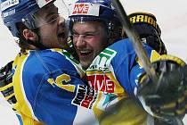 Domácí zápasy s Havlíčkovým Brodem ústečtí hokejisté zvládli. Uspějí i venku?