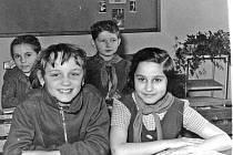 Petra Janů ještě jako Janička v roce 1962.