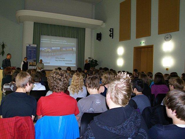 Na přednášce pro lužickosrbské studenty bylo vyhlášeno podzimní kolo soutěže.