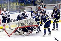 Ústečtí hokejisté naposledy prohráli v Kladně 2:3 v prodloužení.