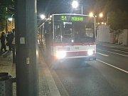 Noční kontrola jízdenek proběhla v ústecké MHD podruhé
