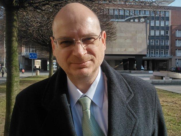 Odvolaný ředitel ústecké zoo Jiří Bálek.