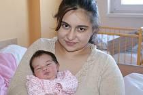 Petra Sitaiová, porodila v ústecké porodnici dne 5.2. 2011 (5.20) dceru Valerii  (46 cm, 3,17 kg).