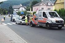 Zřejmě infarkt stál za dopravní nehodou ve Velkém Březně.