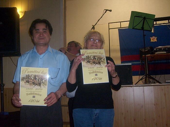 Oslavy 120. výročí SDH Neštěmice.