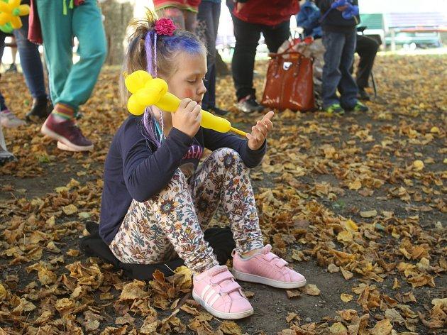 Kreativní odpoledne v parku TGM na Střekově,