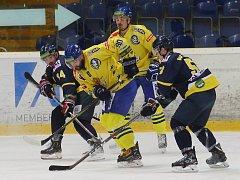 Hokejový zápas mezi Ústím a Přerovem, 9. kolo Chance ligy 2018/2019