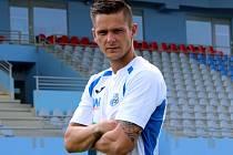 Fotbalista Jan Králík.