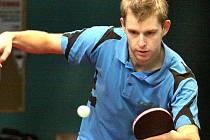 Martin Merker patří k oporám ústeckého Slavoje, který má jistou účast v play off první ligy stolních tenistů. Poslední dvě kola rozhodnou o soupeři Slavoje.